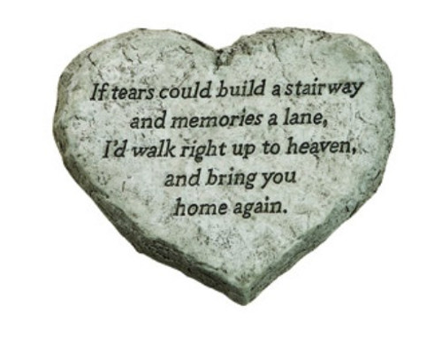 Heart Stone If Tears could build a stairway