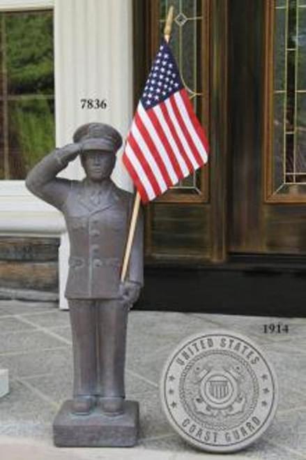 US Coast Gaurd Statue