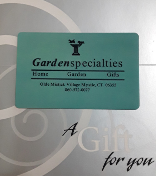 Gift Card To Be Used In our Store In Mystic, CT. $25.00