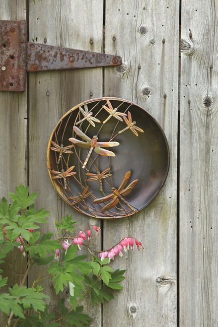 Raised Dragonfly Wall Disc