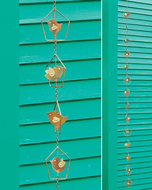 Bird In House Rain Chain