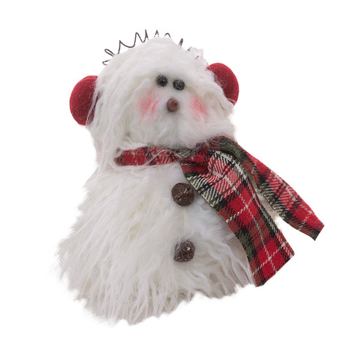 Chumly Snowman With Scarf