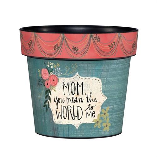 Mom and Me Art Pot