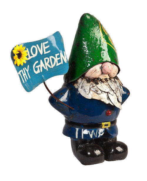 Larry the gnome love thy garden