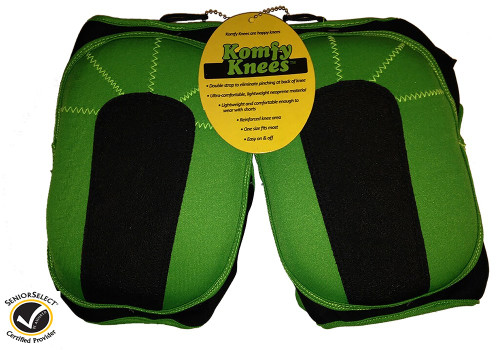 Komfy Green Knee Pads