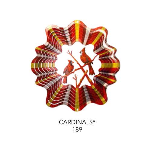 Cardinal Wind Spinner