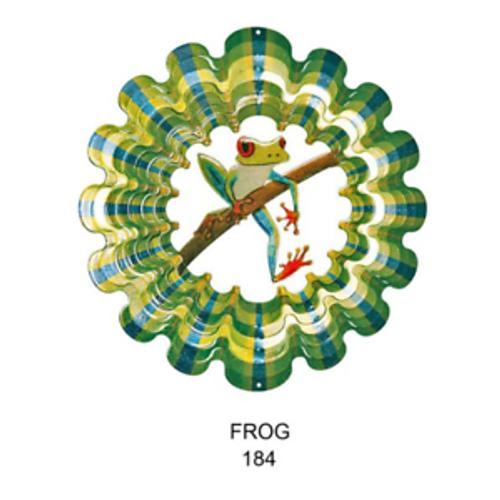 Frog Wind Spinner