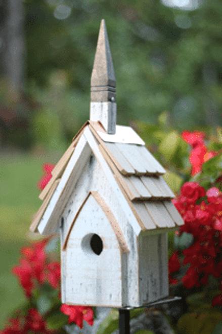 Classic Chapel Birdhouse