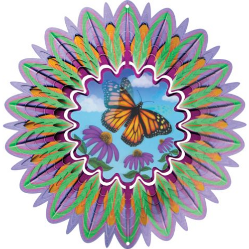 Butterfly Animated Mirror Spinner