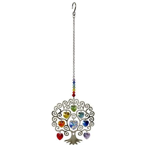 Crystal Tree Of Life crystal suncatcher