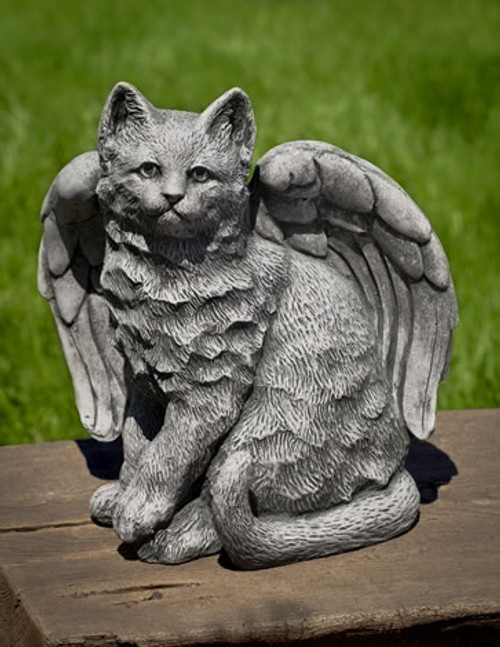 Angel Kitty Statue