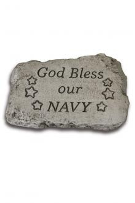 """""""God Bless Our Navy"""" Stone"""