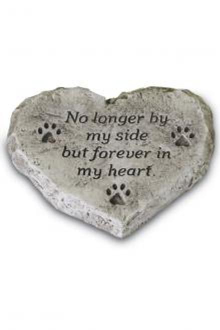 No Longer By My Side Heart Stone