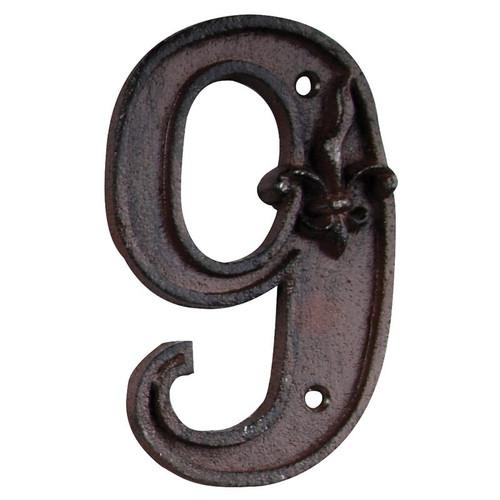 Cast Iron House Numer 9