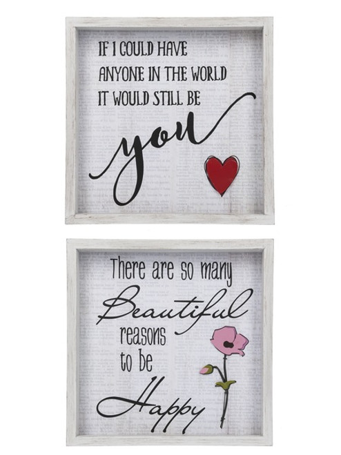 Words Of Love Wire Wall Art