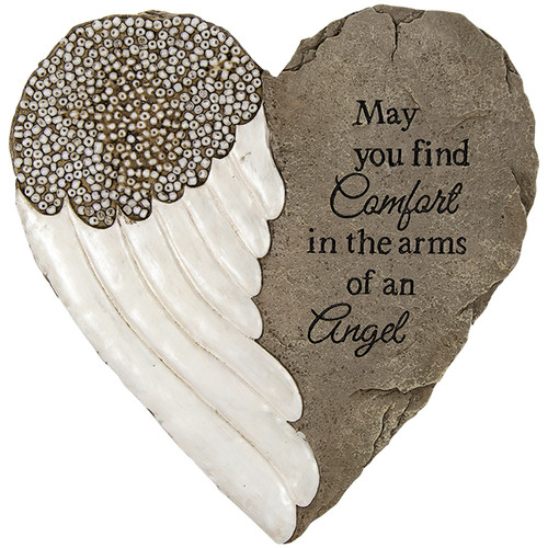 Arms of an angel heart stone