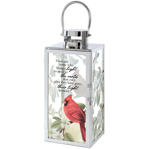 Light remains lantern with cardinal