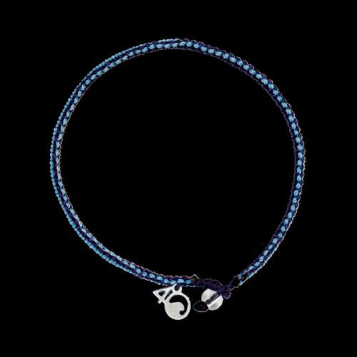 4Ocean Sperm Whalr Braided Bracelet