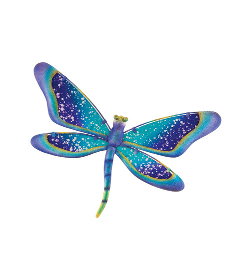 "Watercolor Dragonfly Wall Decor 11"""