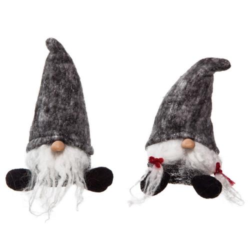 Plush Sitting Christmas Gnome