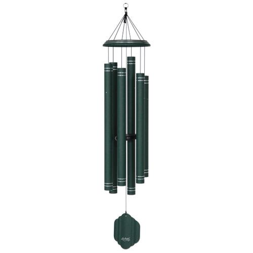 "59"" Arabesque wind chime emerald"