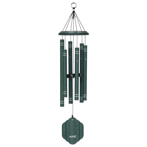"32"" Arabesque wind chime emerald"