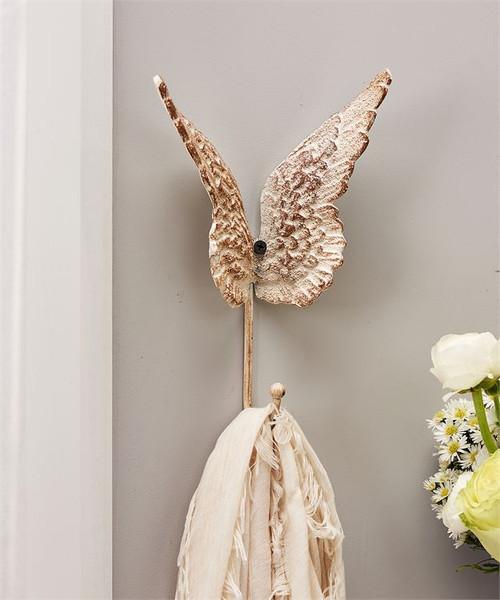 Butterfly design wall hook.