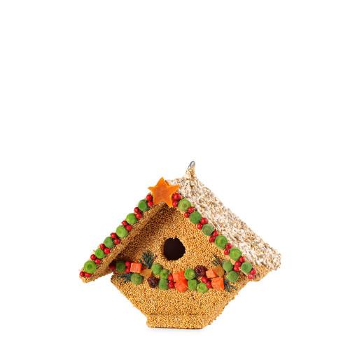 Fruit Casita Bird House Made frm seed