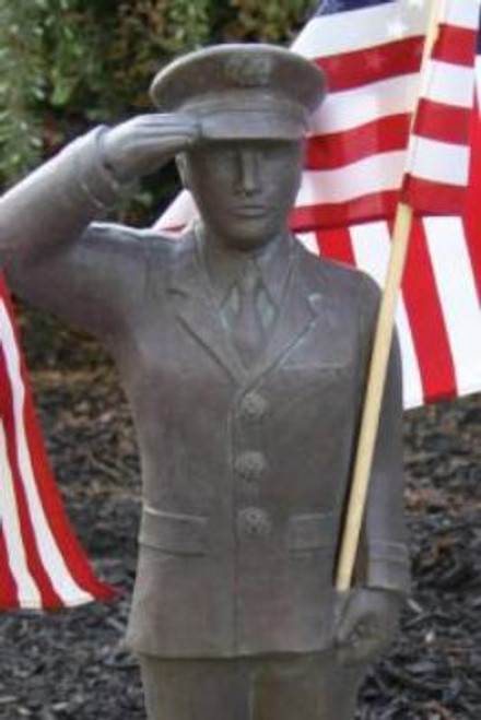 """27"""" US Armed Forces Air Force Statue"""