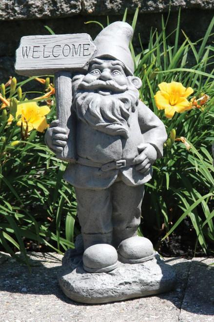 Lazy Daze Gnome Welcome