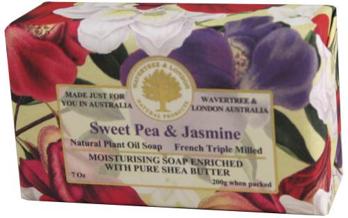Luxury Soap Sweet Pea Jasmine