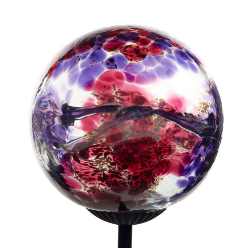 Webbed solar lighting multi pink