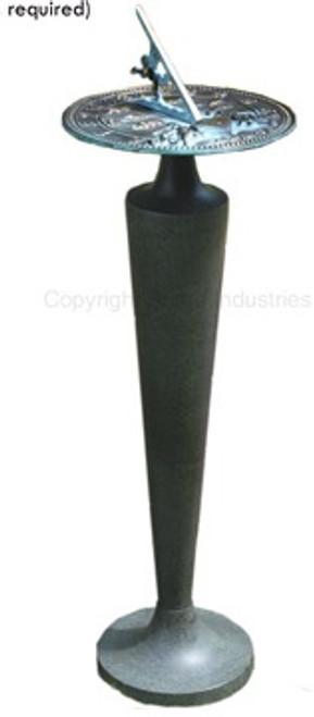 Cast Alluminum Sundial Pedestal