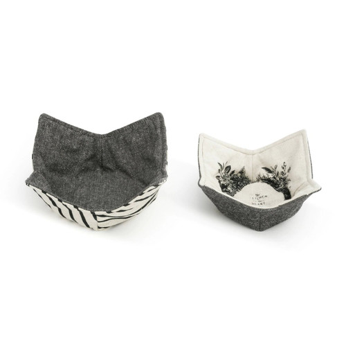 Microwavable Pot Holder Heart Of Home