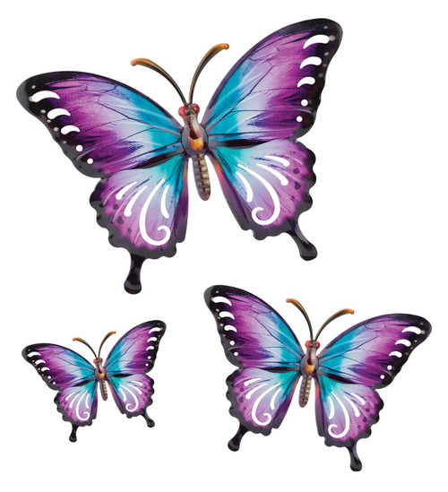 Luster Butterfly Wall Decor Large