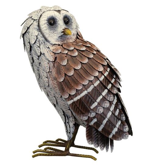 Metal Barn Owl Standing