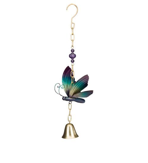 Butterfly metal garden bell