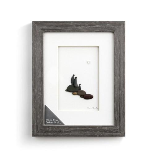 "Sharon Nowland's ""We are three wall art"""