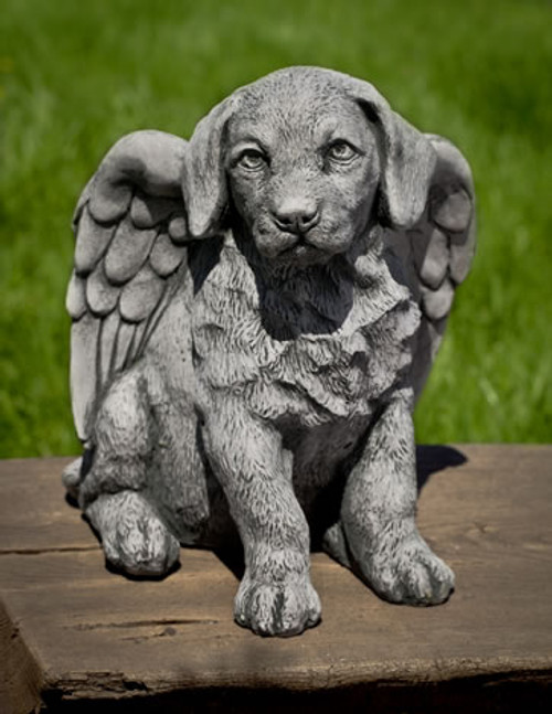 Angel Puppy Statue