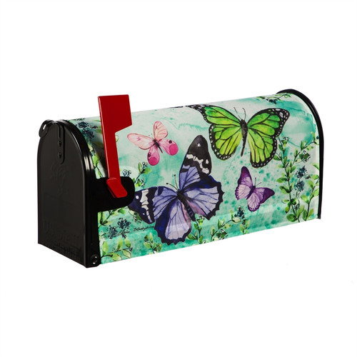 Butterfly Friends Mailbox Cover
