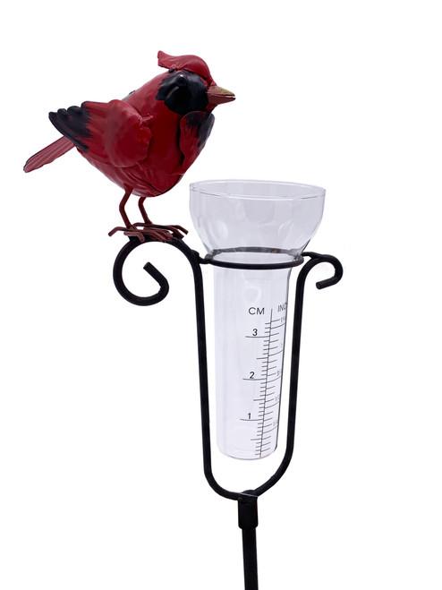 Cardinal Rain Gauge With Stake