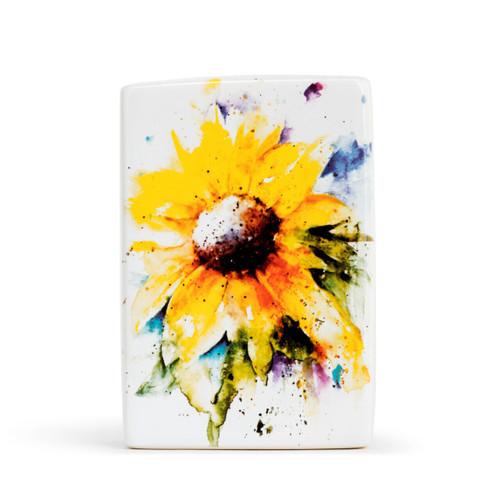 Sunflower Plaque by Dean Crouser