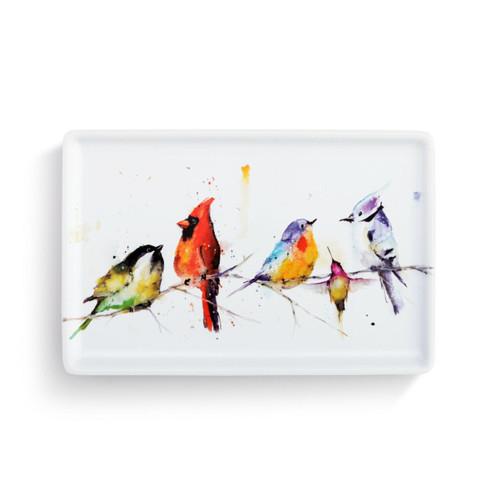 Little Birds Tray by Dean Crouser