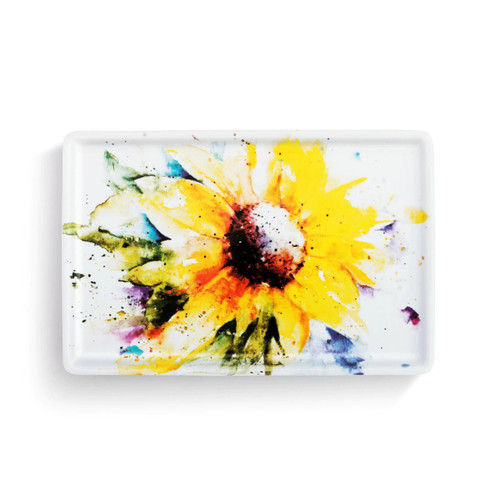 Sunflower tray by Dean Crouser