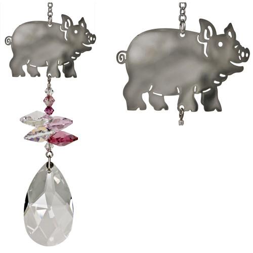 Crystal fantasy pig
