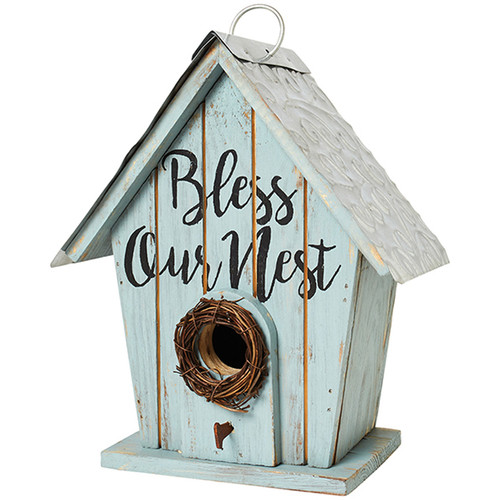 Bless Our Nest Bird House