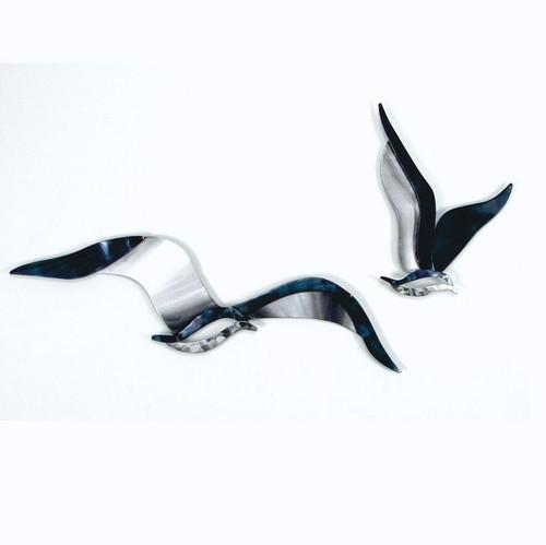 Horizontal Seagull Wall Art Med