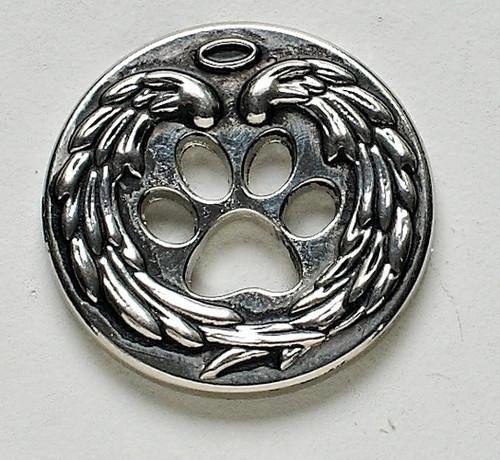 Pet memorial pocket token