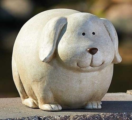 Dog Pudgy Pal Statue