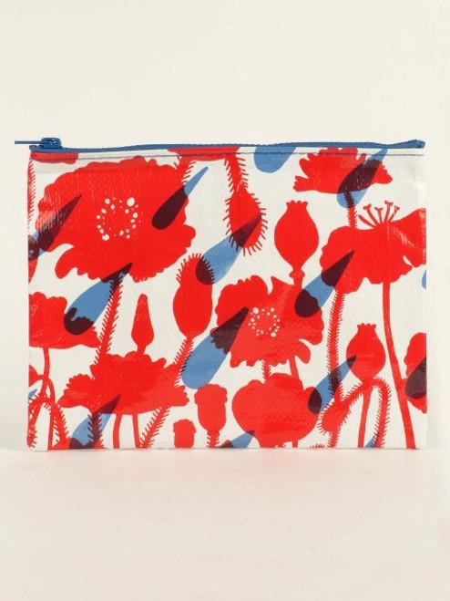 Flower shower zipper pouch
